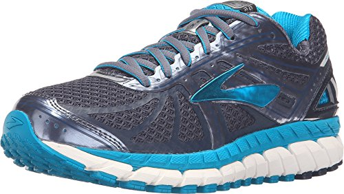 Shoe Running 6 Control Stability - Brooks Women's Ariel '16 Mood Indigo/Capri Breeze/Grisalle 6 B US