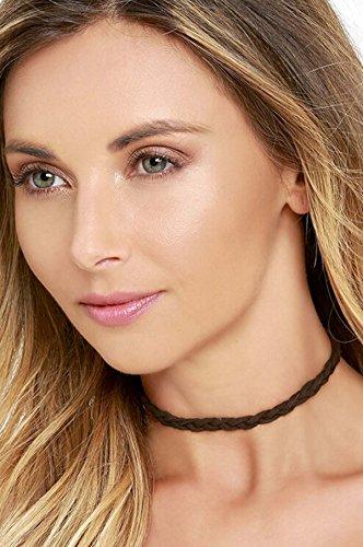 Bridalvenus Gothic Necklace Clavicle Leather