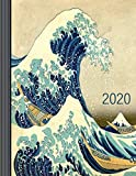 2020: Hokusai Calendar 2020 - Large Monthly Weekly