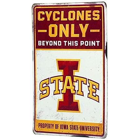 Open Road Brands NCAA Collegiate University 14x14 Ticket Wood Wall D/écor