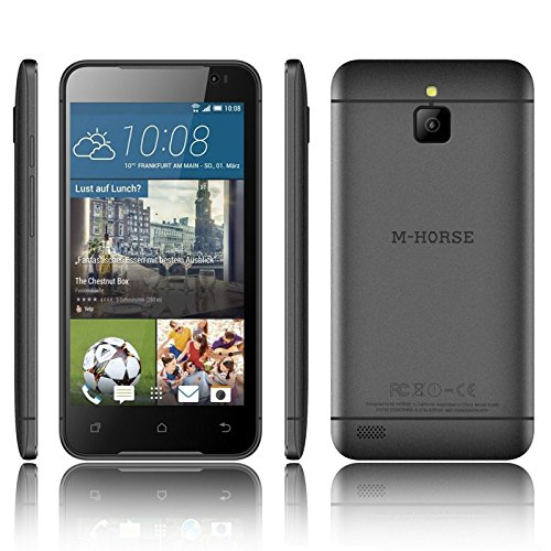 M-Horse 5 screen 1.3 Quad Core High Performance Dual SIM Smart Phone (Black ) A9