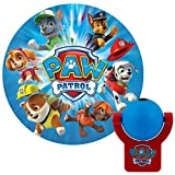 Tools & Hardware : Projectables 30604 Paw Patrol LED Plug-In Night Light, Blue and Red, Light Sensing, Auto On/Off, Projects Nickelodeon Paw Patrol Image on Ceiling, Wall, or Floor