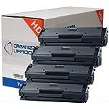 4 Super Toner per Samsung Xpress M2070, M2070F, M2070FW, M2070W. Durata ***1.800*** Pag.al 5% di Copertura #MLT-D111S/L