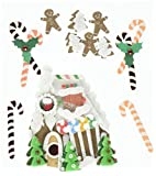 Jolee's Boutique Dimensional Stickers, Gingerbread House