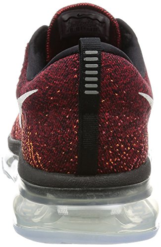 Nike Flyknit Air Max 620469-016 Black/Blue/Red Mens Reflective Running Shoes Black Summit White Team Red 011 w4z3IbES