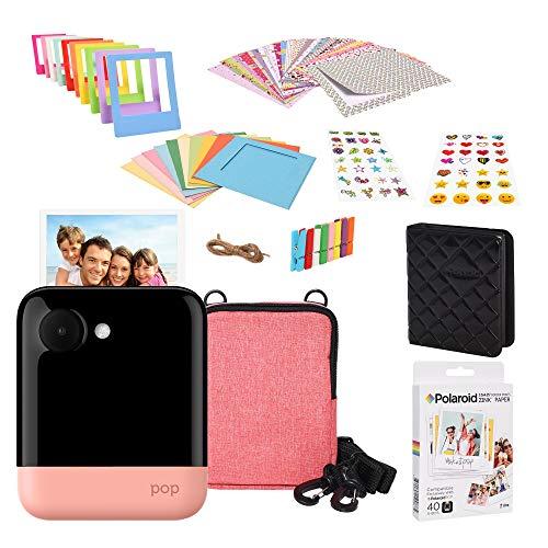 Polaroid POP 2.0 2 IN 1 Sofortdruck-Digitalkamera (Rosa) Geschenkset