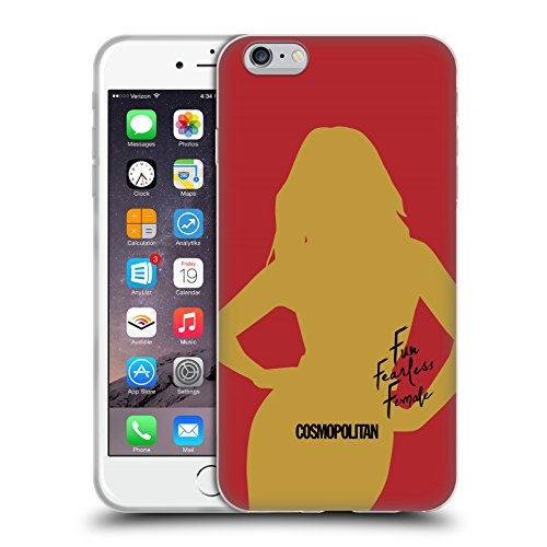 Official Cosmopolitan Cover Girl 3 Fun Fearless Female Soft Gel Case for Apple iPhone 6 Plus / 6s Plus