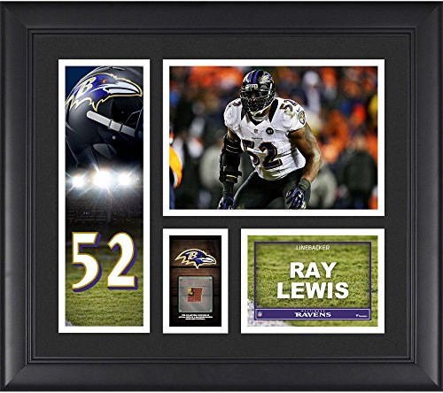 Ray Lewis Baltimore Ravens Framed 15