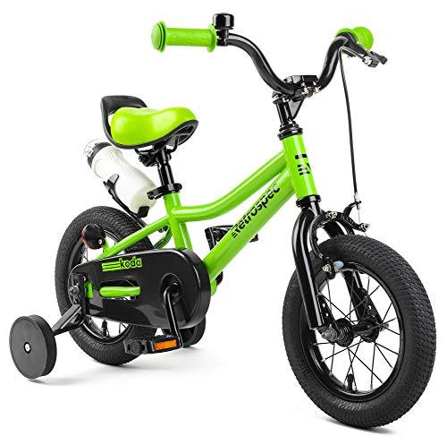 Retrospec Koda Kids Bike with Training Wheels, 12