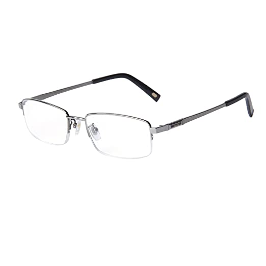 bd57a1f249 Liansan Designer Rectangular Reading Glasses Comfort Classic Men  Prescription Eyeglasses L8800T(+1.00)