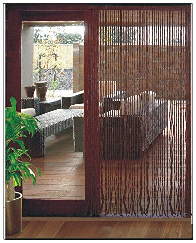 Faraway Fashion Bamboo Bead Door Curtain Feng Shui Curtain Chinese Vestibule Curtain Size 90x180cm. & Faraway Fashion Bamboo Bead Door Curtain Feng Shui Curtain Chinese ...