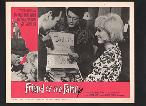 Silver screen POSTER: Friend of the Family Lobby Card #7-1965-Jean Marais and Pierre Dux