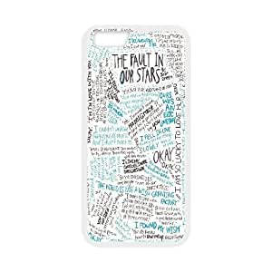 Custom The Fault in Our Stars Quotes Iphone6 Plus Case, The Fault in Our Stars Quotes Personalized Case for iPhone 6 plus 5.5