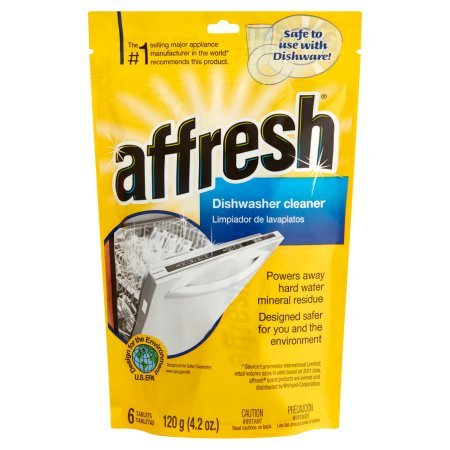 Affresh W10282479 Dishwasher Cleaner, 6 Tablets (18 Tablets)