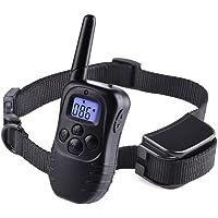 Wodondog Collar de Adiestramiento para Perros Recargable y Resistente al Agua con Vibración y Sonido, Rango Remoto de…