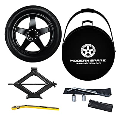 2010-2015 Chevrolet Camaro Complete Spare Tire Kit With Carrying Case – LT, LS, RS, SS – Modern Spare