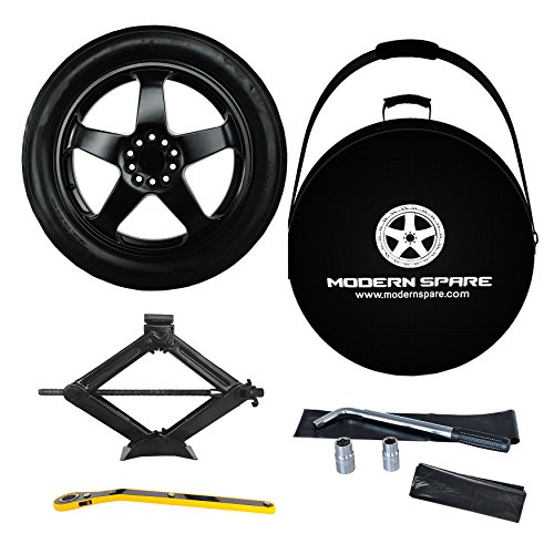 2016-2019 Chevrolet Camaro Complete Spare Tire Kit With Carrying Case - LT, RS, SS - Modern Spare