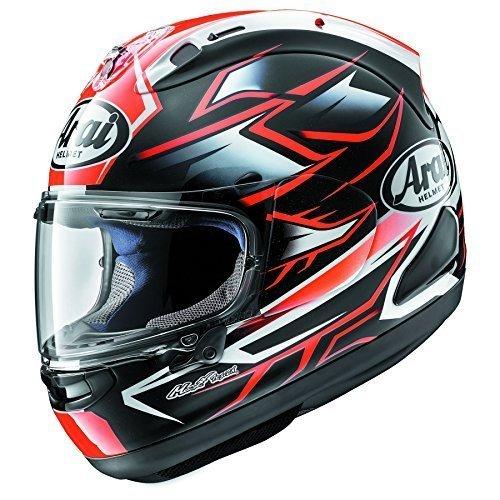 - Arai Corsair-X Ghost Red Motorcycle Helmet MD