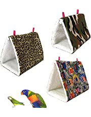 Sanwooden Funny Pet Hammock Hammock Mini Winter Warm House for Pet Bird Parrot Squirrel Hanging Bed Toy Pet Supplies