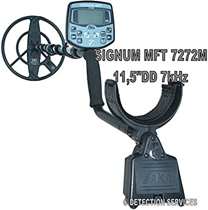 aka Signum MFT 7272 M MF/SF Metal Detector profesional Coil 11 ...