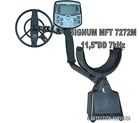 aka Signum MFT 7272 M MF/SF Metal Detector profesional Coil 11,5dd