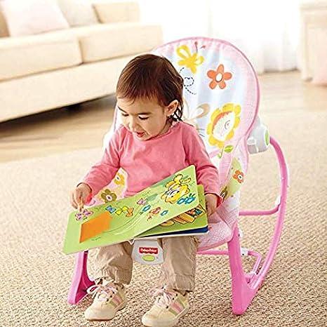 Amazon.com: New.Silla Mecedora Vibradora para Bebés Niños ...