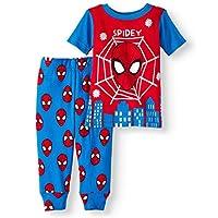 Spiderman, Spidey Baby Boy Cotton Tight Fit Pajamas, 2 pc Set Licensed