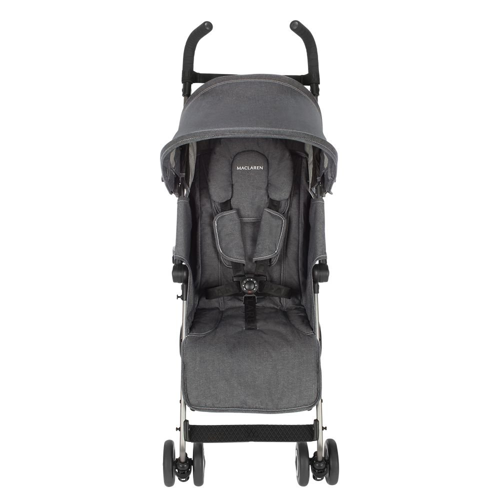 Amazon.com: Maclaren Quest Denim Carbón carriola: Baby