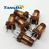 Batcus Adjustable high-Frequency Winding inductance Inductor core Regulated Trimming Inductor 12T 0.6uh-1.7uh