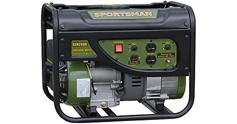 Sportsman GEN2000 2000 Watt Gasoline Portable Generator only $159.00