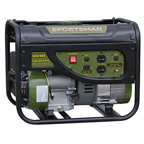 Generator Stand - Sportsman GEN2000, 1400 Running Watts/2000 Starting Watts, Gas Powered Portable Generator