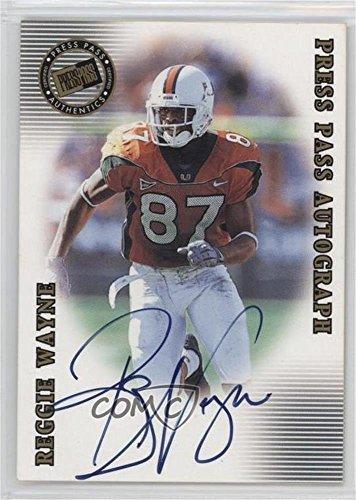 Reggie Wayne (Football Card) 2001 Press Pass SE - Autographs #REWA