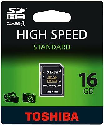 Toshiba 16GB SDHC - Tarjeta De Memoria Sdhc Clase 4 De 16 GB
