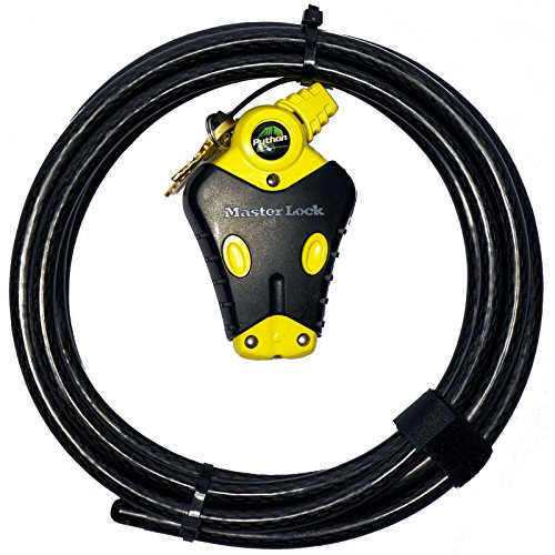 Master Lock -  Python Adjustable Cable Lock, 8413KACBL-12