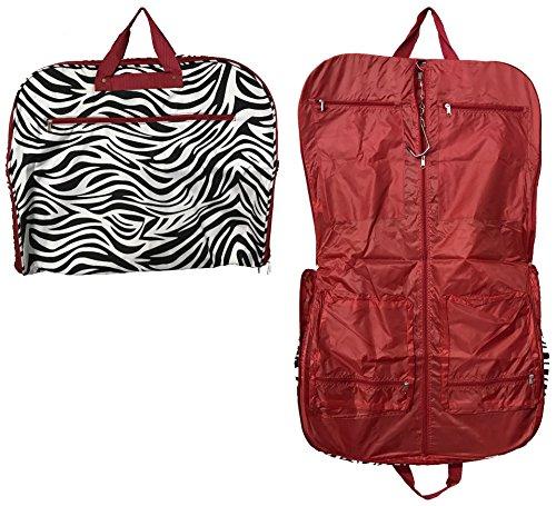 garment bag red zebra - 1