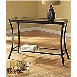 Z-Line Designs Massadona Console Table, Dark Bronze