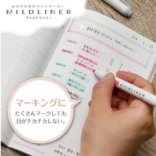 // WKT7-5C-NC // WKT7-N-5C 5-Color Set 5-Color Set Zebra MILDLINER WKT7-5C +Epoxy Sticker // WKT7-5C-RC 5-Color Set 5-Color Set