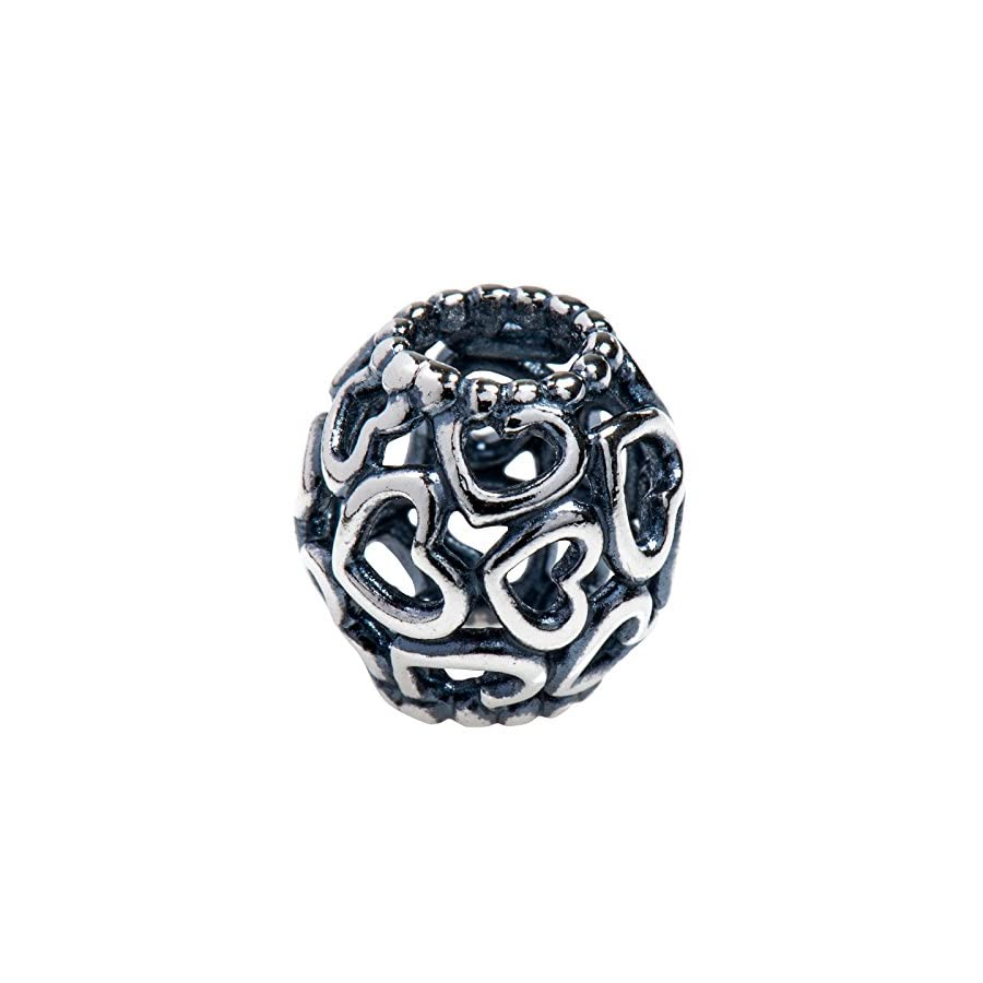 Pandora Open Your Heart Silver Charm 790964