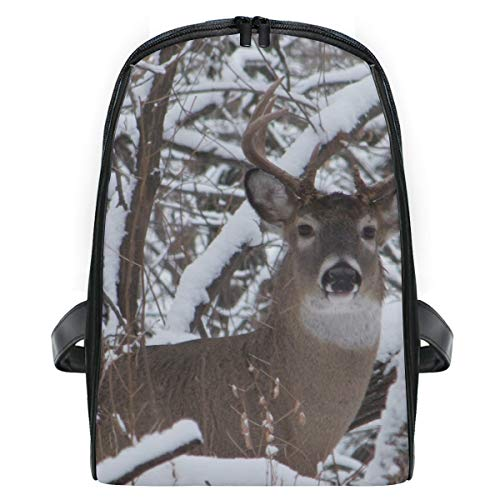 Backpack Whitetail Iowa Buck Deer Mini Shoulders Bag Classic Lightweight Daypack for -
