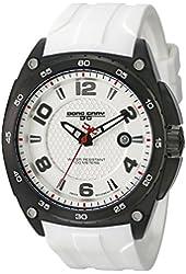 Jorg Gray Men's JG8400-12 Analog Display Quartz White Watch