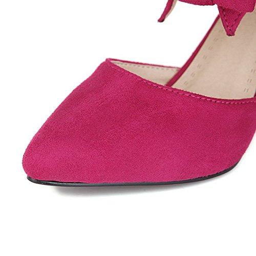 Chaussures Pu Stylet Femme Pointu Cuir Tire Agoolar L tzYqwA
