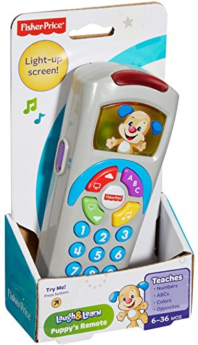 51xyDFS1nPL - Fisher-Price Laugh & Learn Puppy's Remote