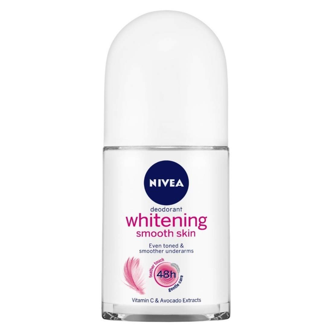 Nivea Whitening Smooth Skin Deodorant Roll On