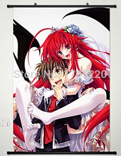 Poster Home Decor Wall Scroll High School DXD Rias Gremory &