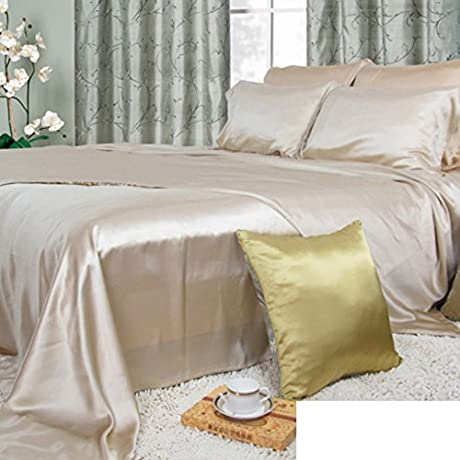 Pure Silk Bed Linen Thick Seamless Silk Bed Mikasa C 270x280cm 106x110inch