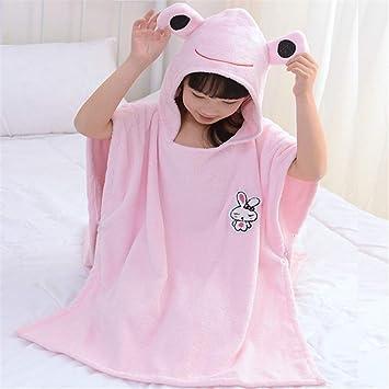FIFY Toalla de baño de algodón para niños Toalla de baño de algodón para niños Toalla ...