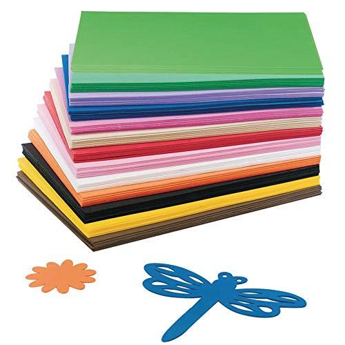 S&S Worldwide AX822 EVA Foam Sheet Assortment (Pack of -