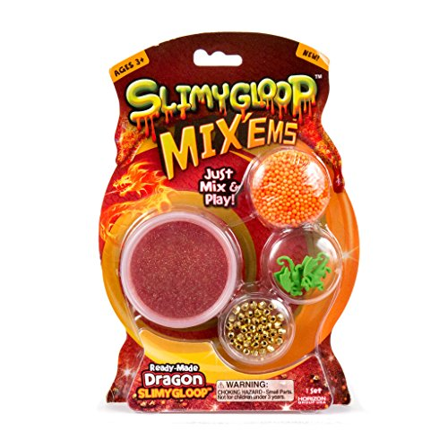 Slimygloop Horizon Group USA Dragon MIX'EMS, Red
