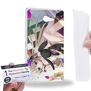 Case88 [Sony Xperia M2] Gel TPU Carcasa/Funda & Tarjeta de garantía - Yosuga no Sora Sora Kasugano Haruka Kasugano 1458