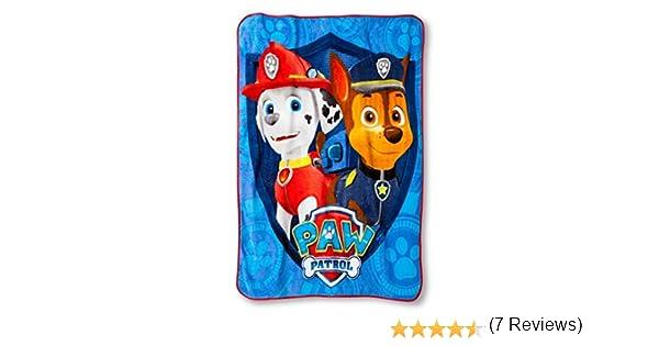 Paw Patrol Great Job Pups Soft /& Cuddly Silky Soft Throw 40 x 50 102cm x 127cm